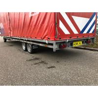 Hulco Schamelwagen met huif 811x211x252cm