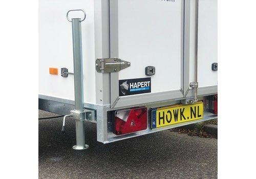 Hapert Aanhangwagens Steunpoot  600mm Incl. klem t.b.v. Hapert Azure-L