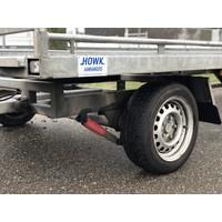 Gebruikte Witteveen schamelwagen 800x210cm 3500kg
