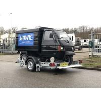 Motor / brommobiel trailer huren?750kg ongeremd
