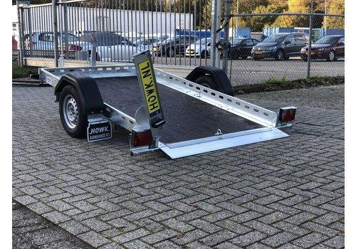 Aanhanger huren Motor / brommobiel trailer huren?750kg ongeremd