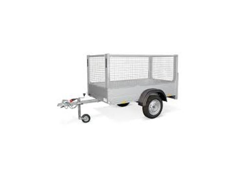 Anssems aanhangwagens Anssems GT + Loofrek 201x101x100cm 750kg Ongeremd