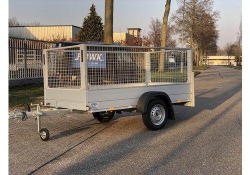 Anssems aanhangwagens Anssems GT + Loofrek 251x126x100cm 750kg Ongeremd