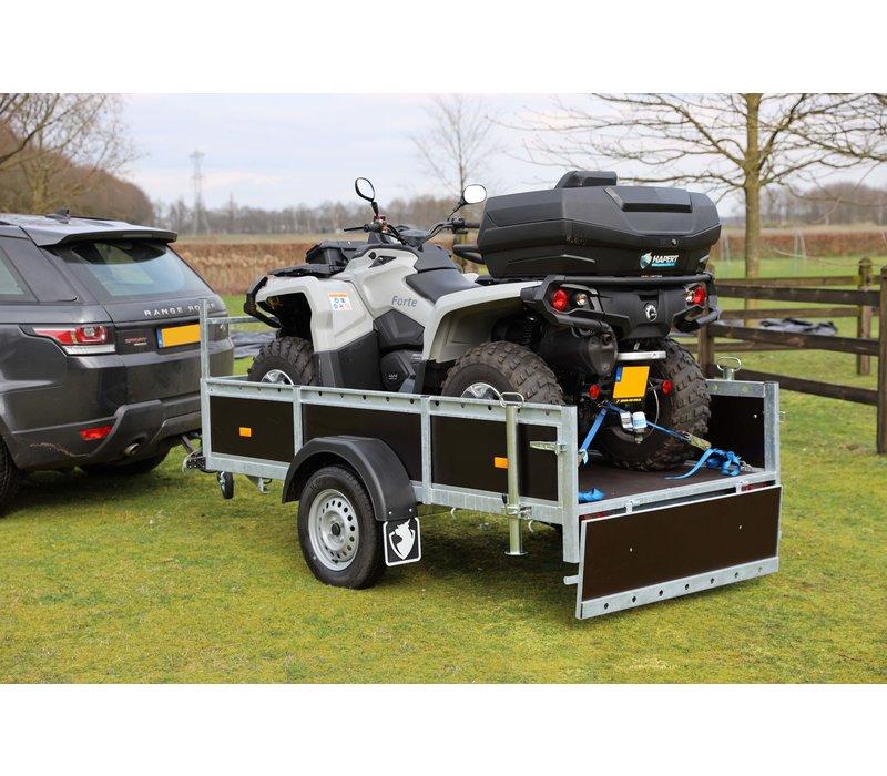 Amigo bakwagen 199x126cm 750kg ongeremd