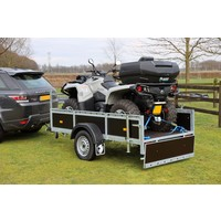 Amigo bakwagen 258x126cm 750kg ongeremd 750kg ongeremd