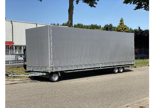 Hulco Aanhangwagens Hulco Schamelwagen met huif 811x203x225cm 3500kg