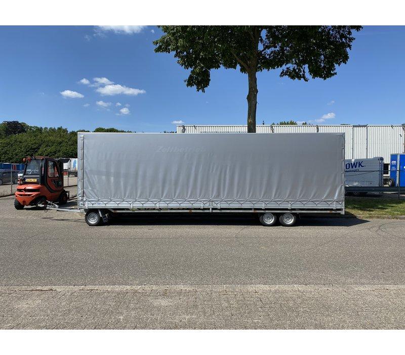 Hulco Schamelwagen met huif 811x203x225cm 3500kg