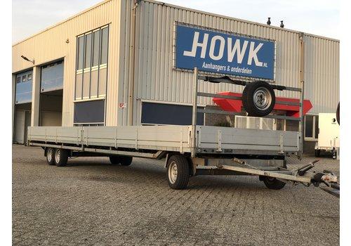 Hulco Aanhangwagens Hulco Rota schamelwagen 811x203cm 3500kg