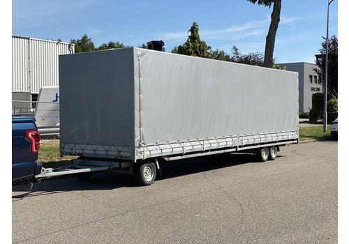 Hulco Aanhangwagens Hulco Schamelwagen met huif 811x203x195cm 3500kg