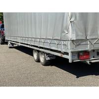 Hulco Schamelwagen met huif 811x203x195cm 3500kg