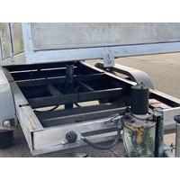 Gebruikte Anssems kiepbakwagen 300x130cm 2000kg