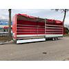 Hulco Aanhangwagens Gebruikte Huif + frame tbv schamelwagen 811x211x252cm