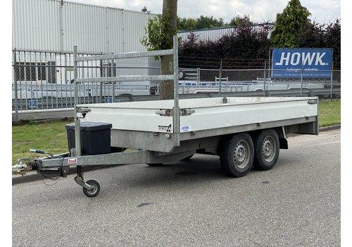Henra Gebruikte Henra plateauwagen 350x185cm 2700kg