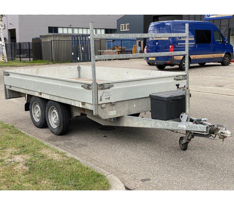 Gebruikte Henra plateauwagen 350x185cm 2700kg