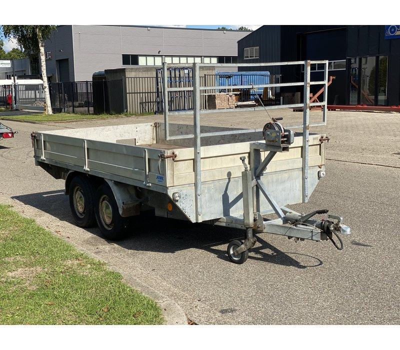 Gebruikte Anssems Plateauwagen 295x180cm