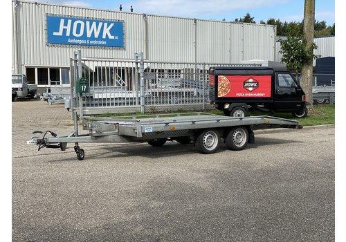Hapert Aanhangwagens Gebruikte Hapert autotransporter 405x200cm