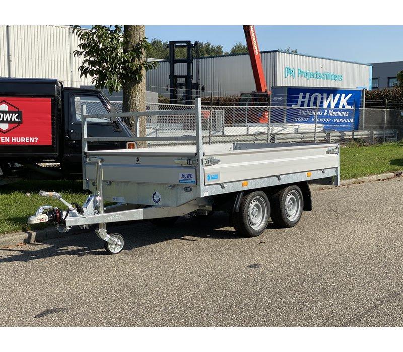 Nieuwe Hapert Azure plateauwagen 280x160cm 2000kg