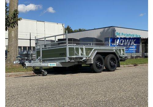 Hapert Aanhangwagens Hapert Azure L-2 Army 300x150cm 2700kg