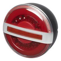 Achterlicht 3 functies 140mm LED met dynamisch knipperlicht