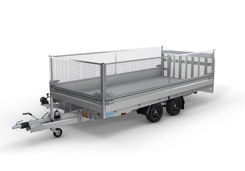 Hapert Aanhangwagens Hapert Indigo HT 505x201 3500kg loofrek met paraboolvering