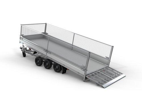 Hapert Aanhangwagens Hapert Indigo HT-3 505x221 3500kg loofrek met paraboolvering