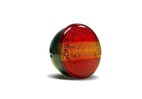 LED achterlicht hamburgerlamp 12-24v zonder kabel ( Budgetline )