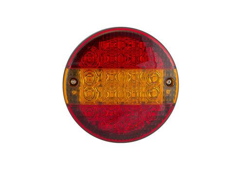 LED hamburger slimline achterlicht  12-24v 30cm. kabel Budgetline