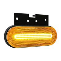 LED zij-markering met knipperlichtfunctie 12-24v 50cm. kabel