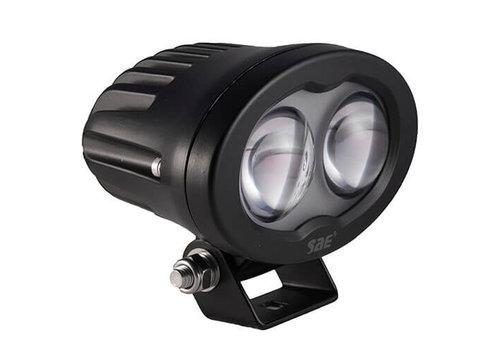 Bluespot led lamp 6 watt 750 lumen 9-110v bolle lens