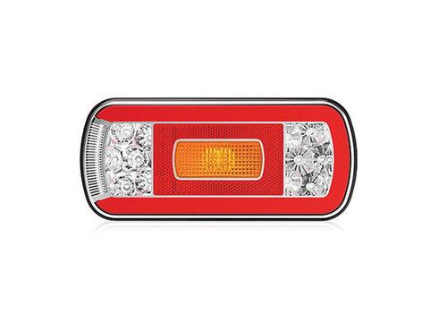 Fristom LED achterlicht met kentekenverlichting 12-36v 5 Pins