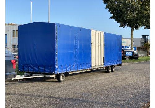 Hapert Gebruikte Hapert Schamelwagen met huif 910x238x220cm