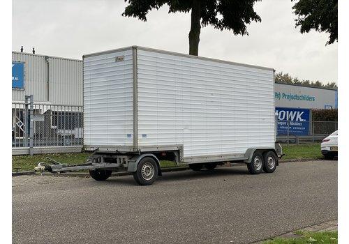 Oosterwijk Gebruikte gesloten Schamelwagen 565x180cmx220cm 3500kg