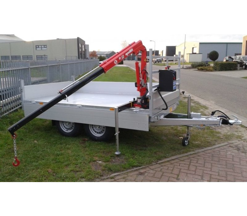 Maxilift Laadkraan M50.2M PLH handmatig heffen en draaien