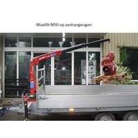 Maxilift LaaMaxilift Laadkraan M50.2H ERH elektrisch heffen en draaien 2e giek handmatigdkraan M50.2H ERH elektrisch heffen en draaien