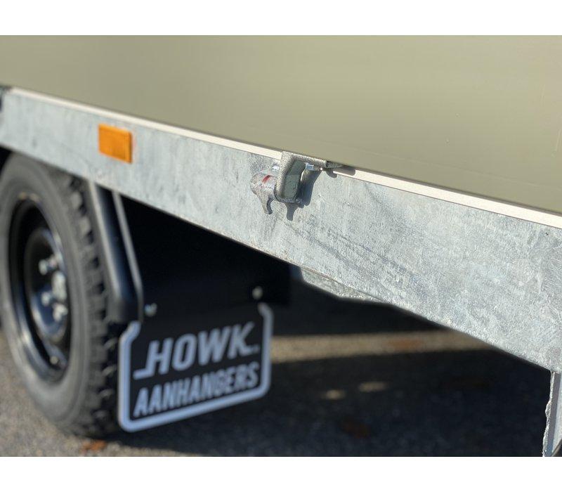 Hapert Azure plateauwagen 335x180cm 2700kg Desert Edition
