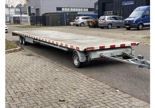 van Weel Gebruikte schamelwagen 1000x226cm 3500kg