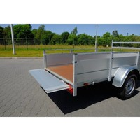 Anssems BSX1500 bakwagen 301x150cm met laadkraan