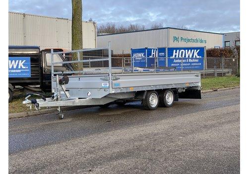 Hapert Aanhangwagens Hapert multitransporter 405x200cm 3000kg