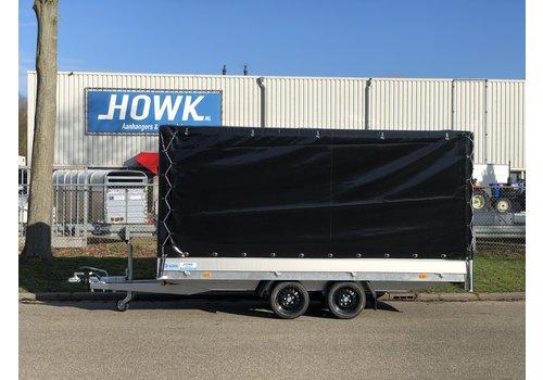 Hapert Aanhangwagens Nieuwe Hapert Azure met huif 405x200x180cm ( 3000kg )