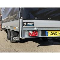 Nieuwe Hapert Azure met huif 405x200x180cm ( 3000kg )