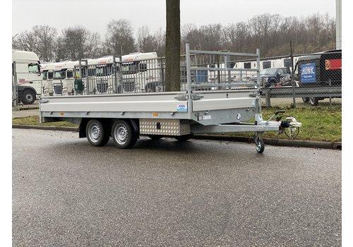 Hapert Aanhangwagens Hapert Azure 400x180cm 2700kg met onderbouwbak