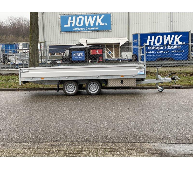 Hapert Azure 400x180cm 2700kg met onderbouwbak