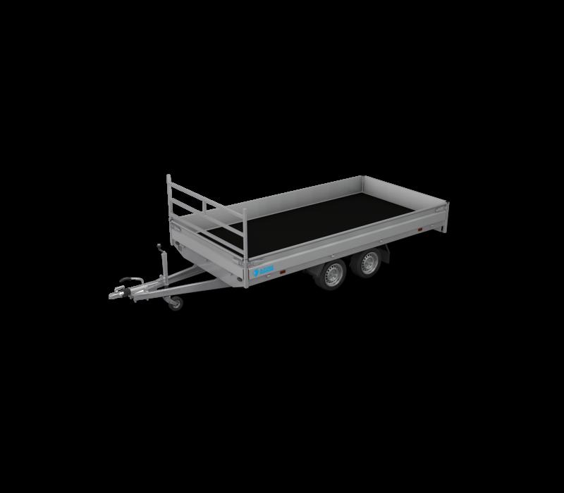 Hapert Azure plateauwagen 405x180cm 2700kg