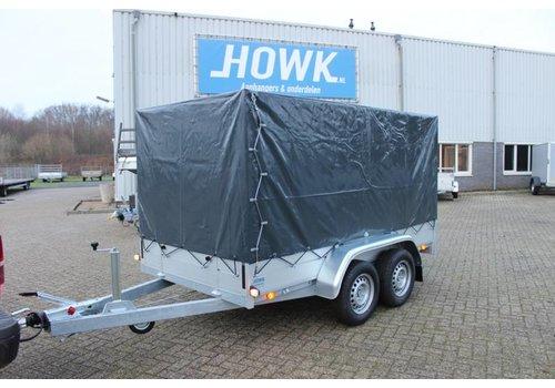 Anssems aanhangwagens Anssems BSX2500251x130x150cm ( 2500kg ) met huif