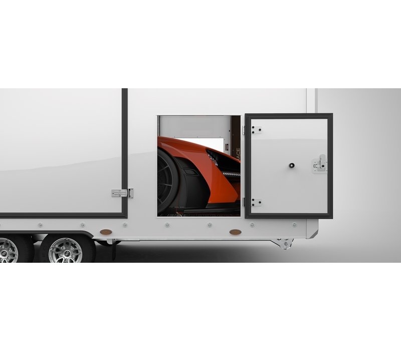 Brian James Race Transporter 6 650x235cm Black Edition