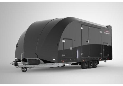 Brian James Trailers Brian James Race Transporter 6 650x235cm Black Edition