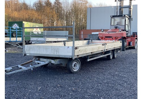 Henra Gebruikte Henra schamelwagen 600x210cm 3500kg