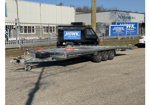 Brian James Trailers Brian James T6 550x220cm ( 3500kg ) Tridem met oprijplaten