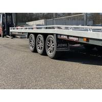 Brian James T6 550x220cm ( 3500kg ) Tridem met oprijplaten