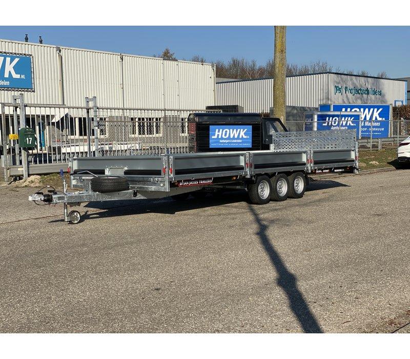 Brian James Cargo Connect 600x228cm 3500kg Tridem